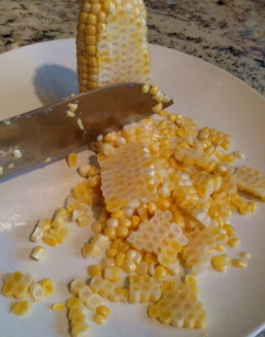 How To Cut Corn Off the Cob – Fast, easy and clean!