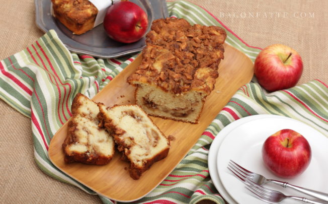 Apple Cinnamon Ribbon Bread