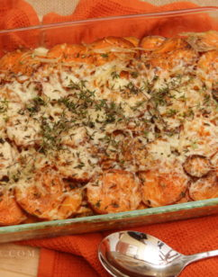Easy Sweet Potato Gratin
