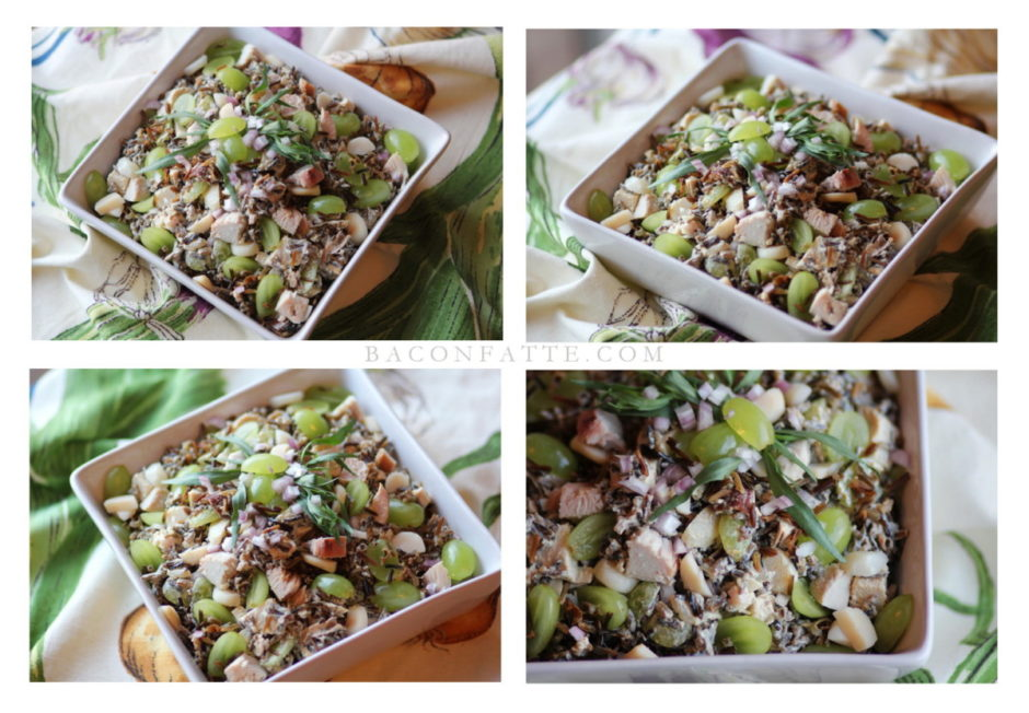 Turkey Wild Rice Salad with Tarragon and Grapes ...