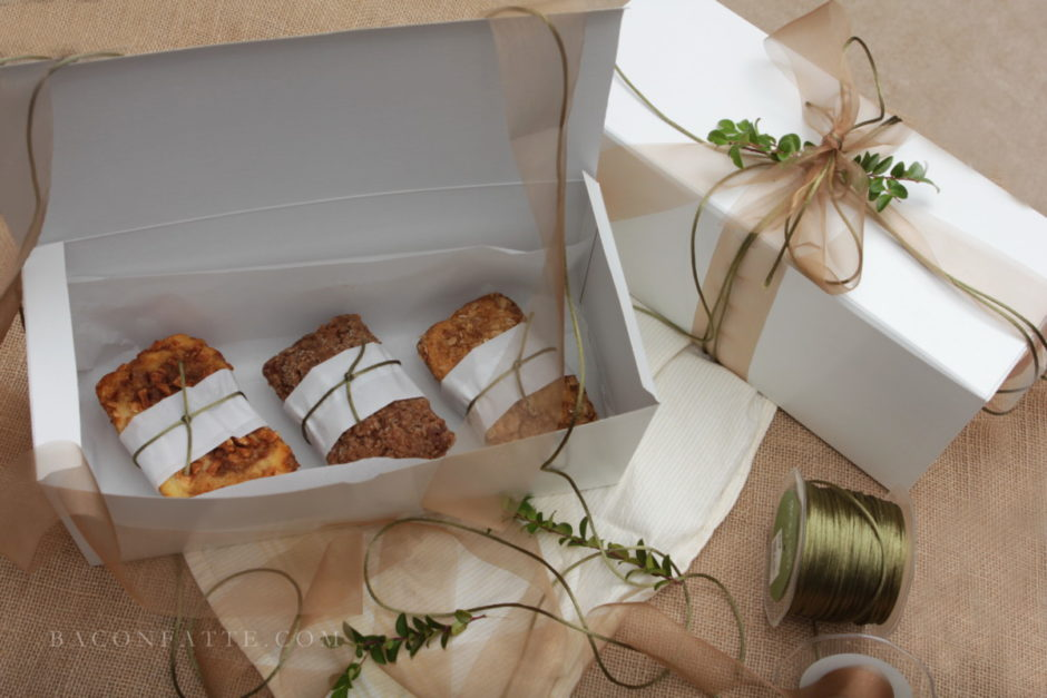 Edible Gift Ideas and Recipes from BaconFatte.com