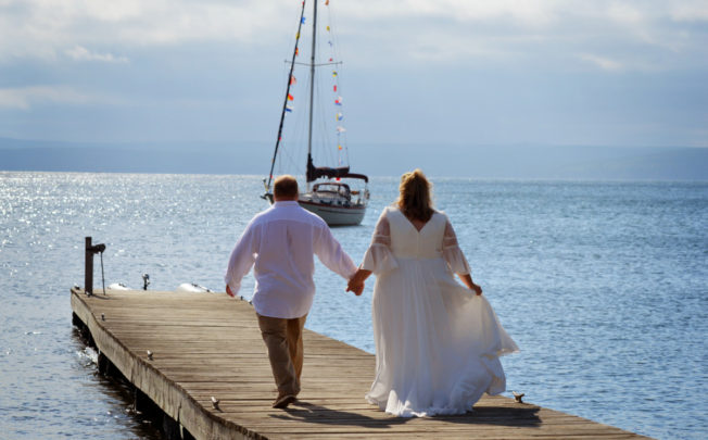 Our Madeline Island Wedding on Lake Superior