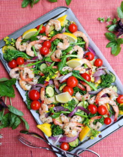 Sheet Pan Shrimp and Roasted Vegetables