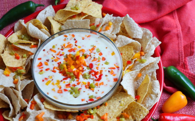 Island Queso Cheese Dip