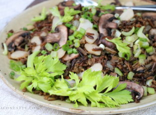 Stir Fried Wild Rice  – aka Minnesota Fried Rice