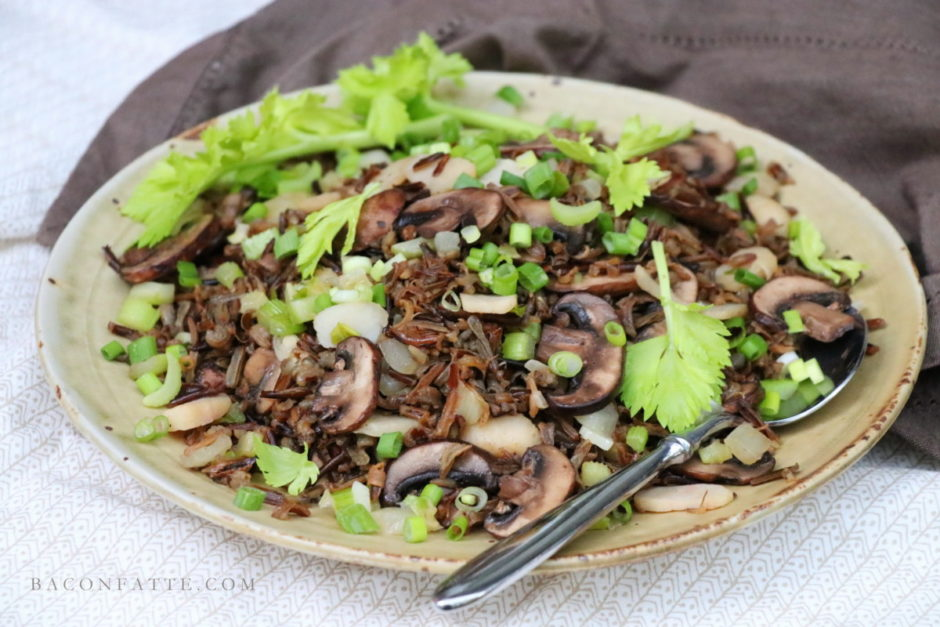 Stir Fried Wild Rice – aka Minnesota Fried Rice – recipe from BaconFatte.com
