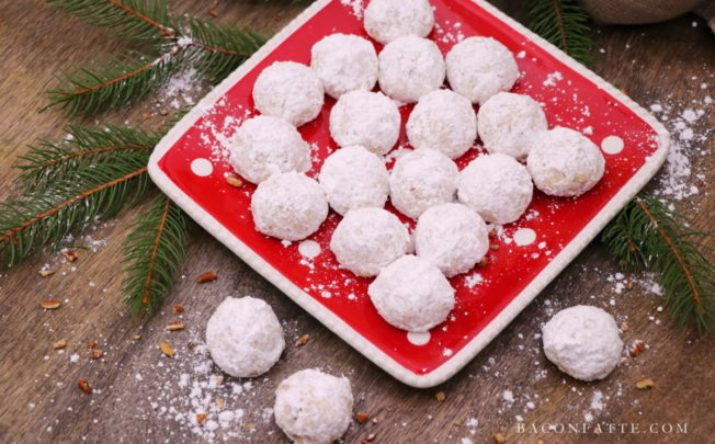 Mexican Wedding Cookies – a classic holiday tradition