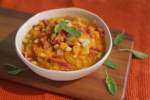 Signature Butternut Chowder with Corn, Sage and Bacon – BaconFatte.com