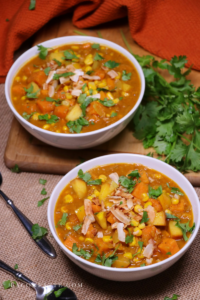 Sweet Potato, Apple and Corn Coconut-Curry Chowder – BaconFatte.com
