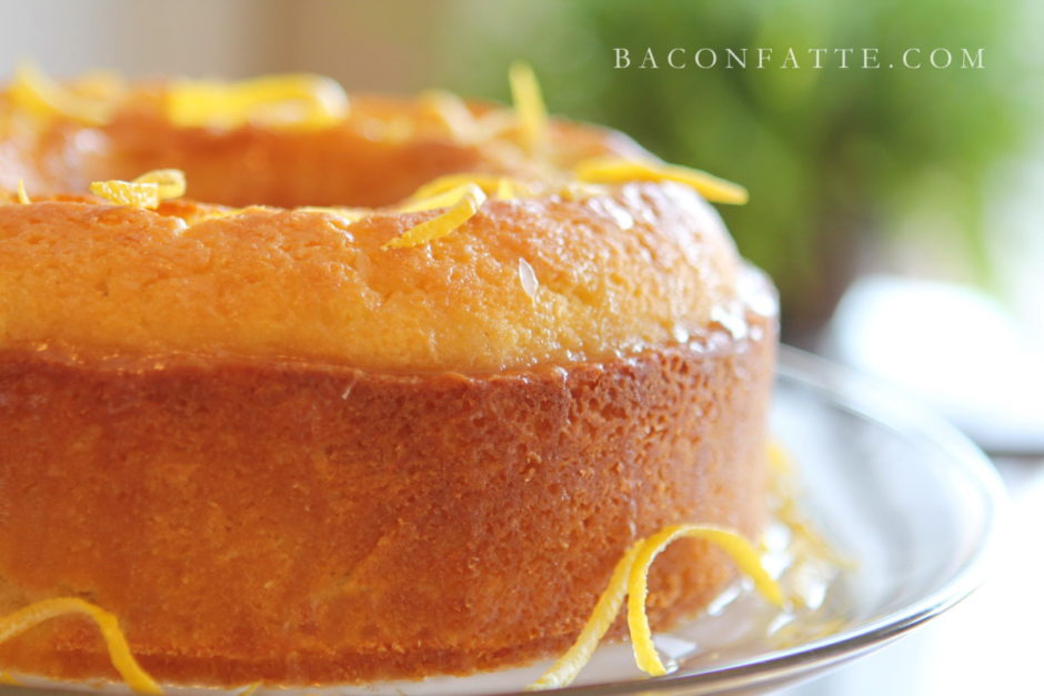 Lemon Tube Cake Recipe