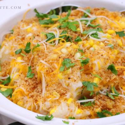 Mashed Potato Corn Kraut Gratin