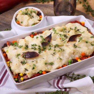 Rustic 3-Meat, Veg and Sauerkraut Cottage Pie