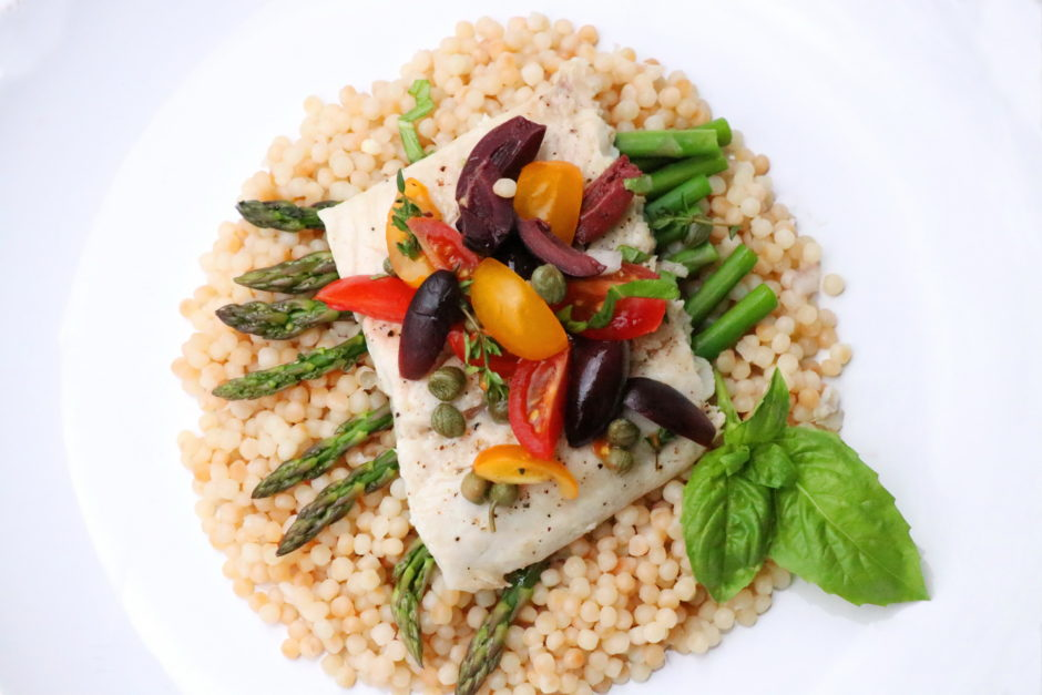 Lake Superior Whitefish Provencal recipe ala Good Thyme Restaurant by BaconFatte.oom