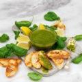Lemon Basil Verde Sauce - BaconFatte.com