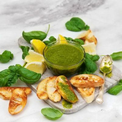 Lemon Basil Verde Sauce