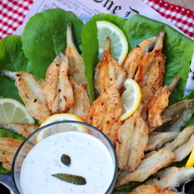 Butterflied Smelt Fries (Fried Smelt)